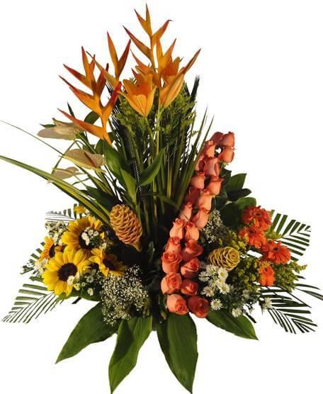 Cmp067 Arreglo Floral Para Cumpleaños