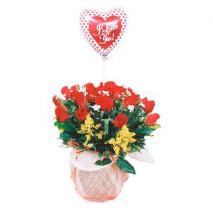AMR001 – Arreglo floral para enamorados