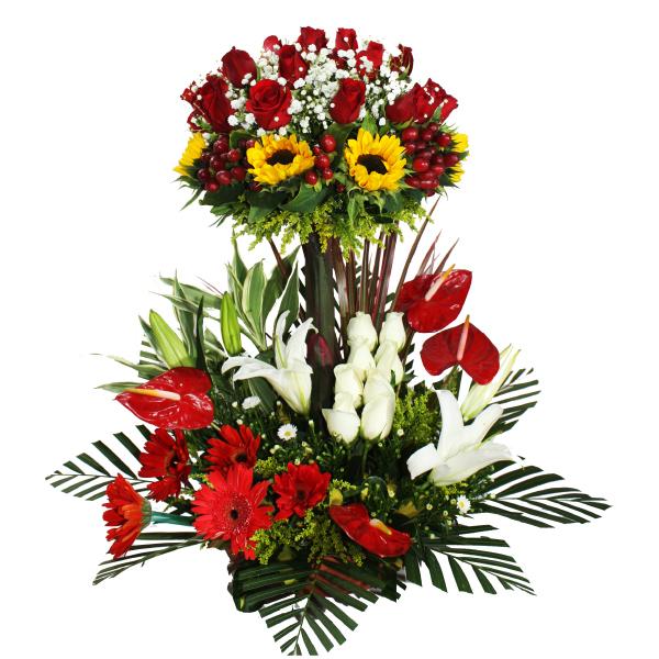 Cmp019 Arreglo Floral Para Cumpleaños
