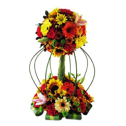 Cmp064 Arreglo Floral Para Cumpleaños