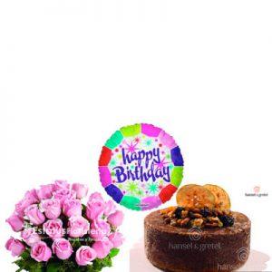 CBE004 – Arreglo Floral para Cumpleaños