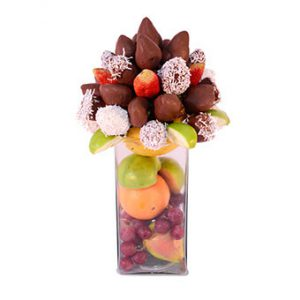 FCH033 – Fresas al chocolate