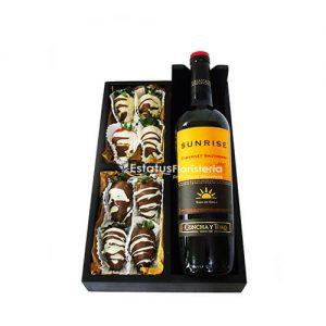 FCH040 – Fresas al Chocolate con vino