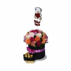 CMP091 – Rosas con chocolates